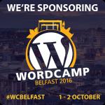 #WCBelfast badge We're Sponsoring