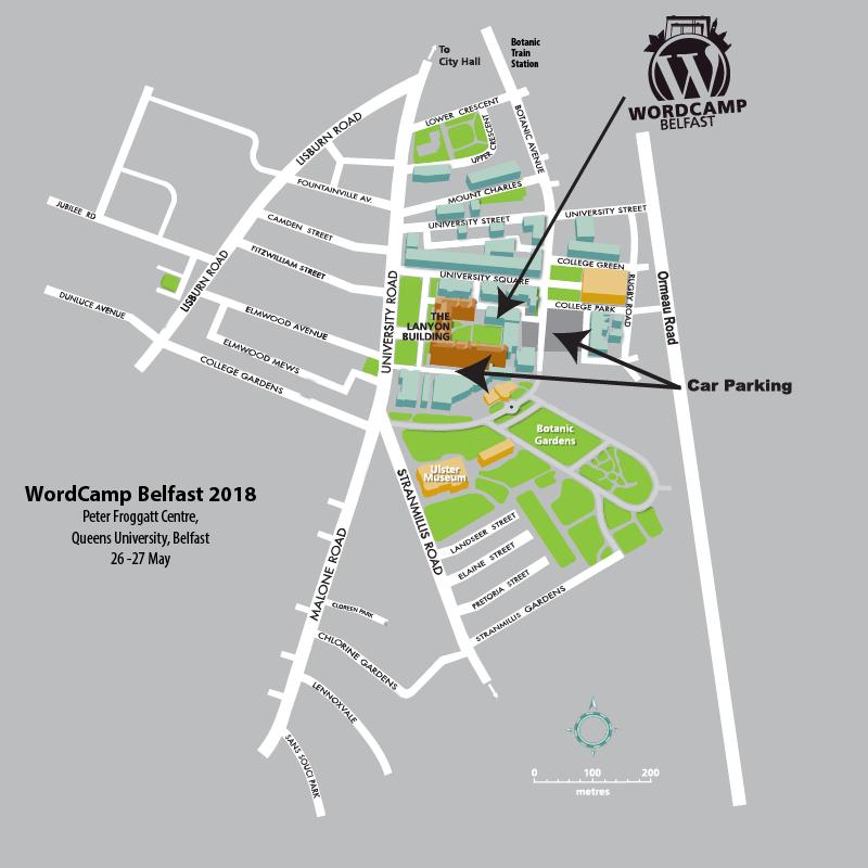 Location Wordcamp Belfast
